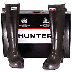 hunter boots box