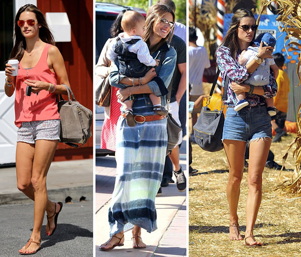 d3b40ff963a8 Alessandra Ambrosio Sports Sam Edelman Gigi and Jalen Shoes  10% off ...