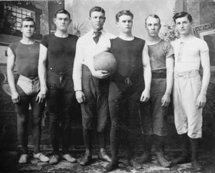early basketball jerseys