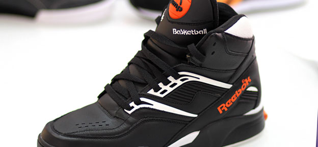 black reebok pump shoes finish line