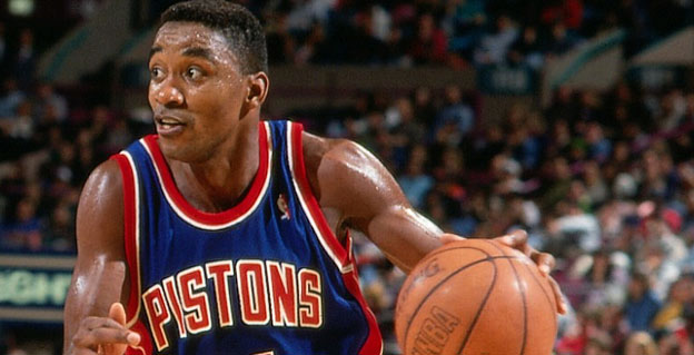 best ball handlers all time isiah thomas
