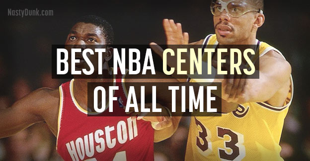 best nba centers history