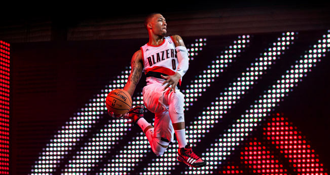 damian lillard adidas contract