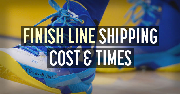 finish line shipping info