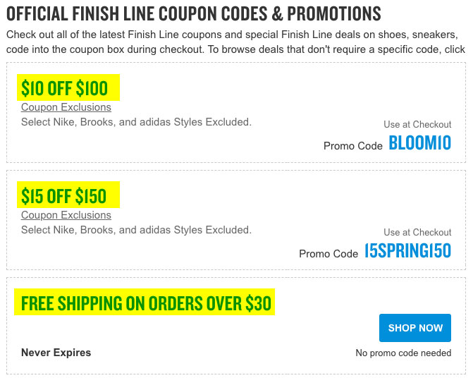 nike free shipping coupon code