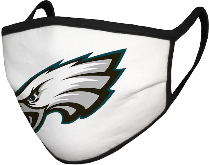 philadelphia eagles face covering mask