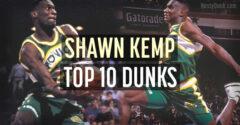 shawn kemp best dunks
