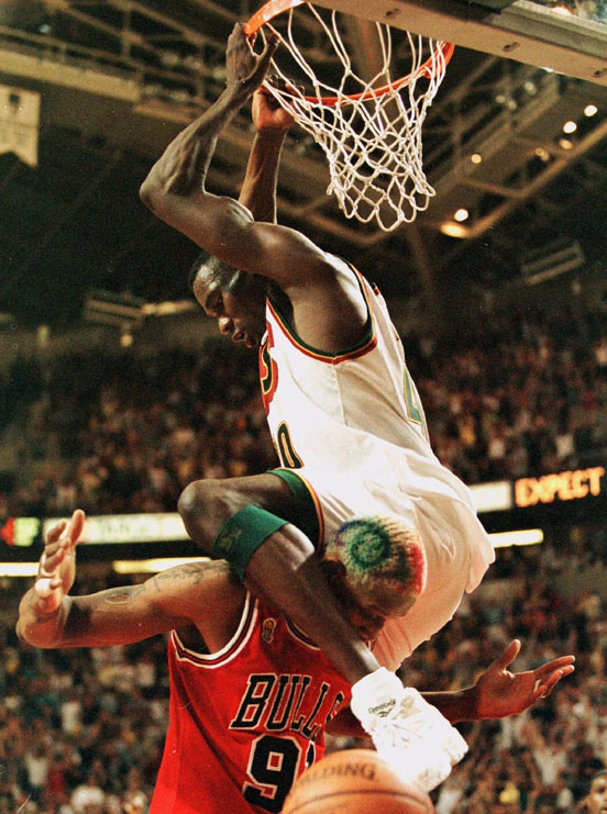 shawn kemp dunk rodman